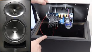 Kali LP6 - Unboxing, Look Inside, switch off Sleep function, Test Studio monitors