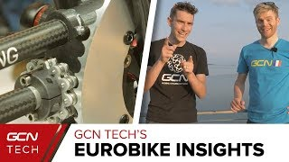 GCN Tech's Eurobike Insights | Analysing New Road Bike Tech From Day 1