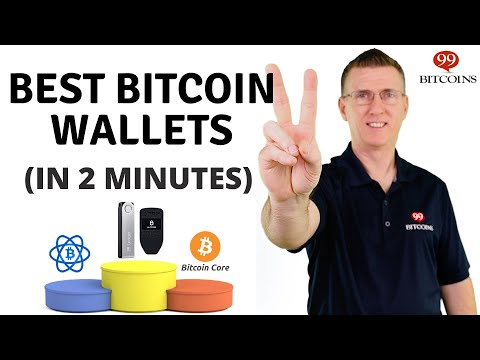 Best Bitcoin Wallet Of 2021 (in 2 Minutes)