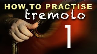 05 - How to Practise Tremolo 1 - Flamenco Guitar Techniques