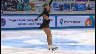 Anna SHERSHAK 2014 SP Russian Nationals