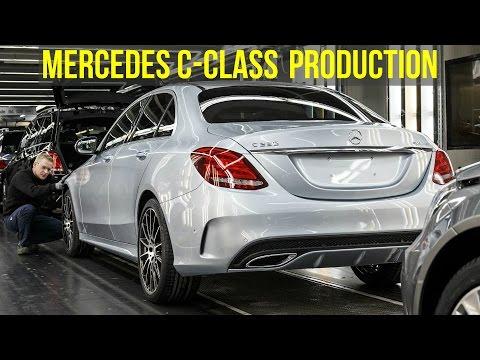 Mercedes C-Class W205 Production