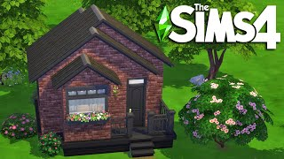 The Sims 4 Micro Brick House | The Sims 4 House Building | Speed Build (No CC)