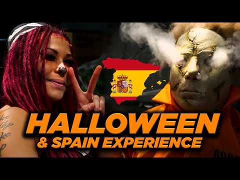 Spain experience | Jet Skiing with Dolphins | Halloween | Around the Globe 5