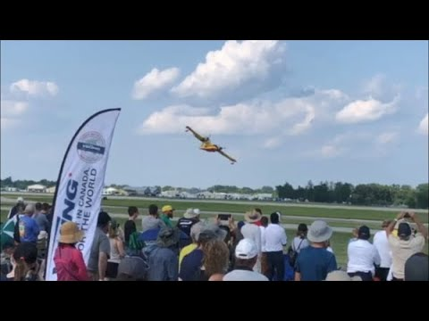 Viking's Canadair CL-215 at 2019 AirVenture #OSH19