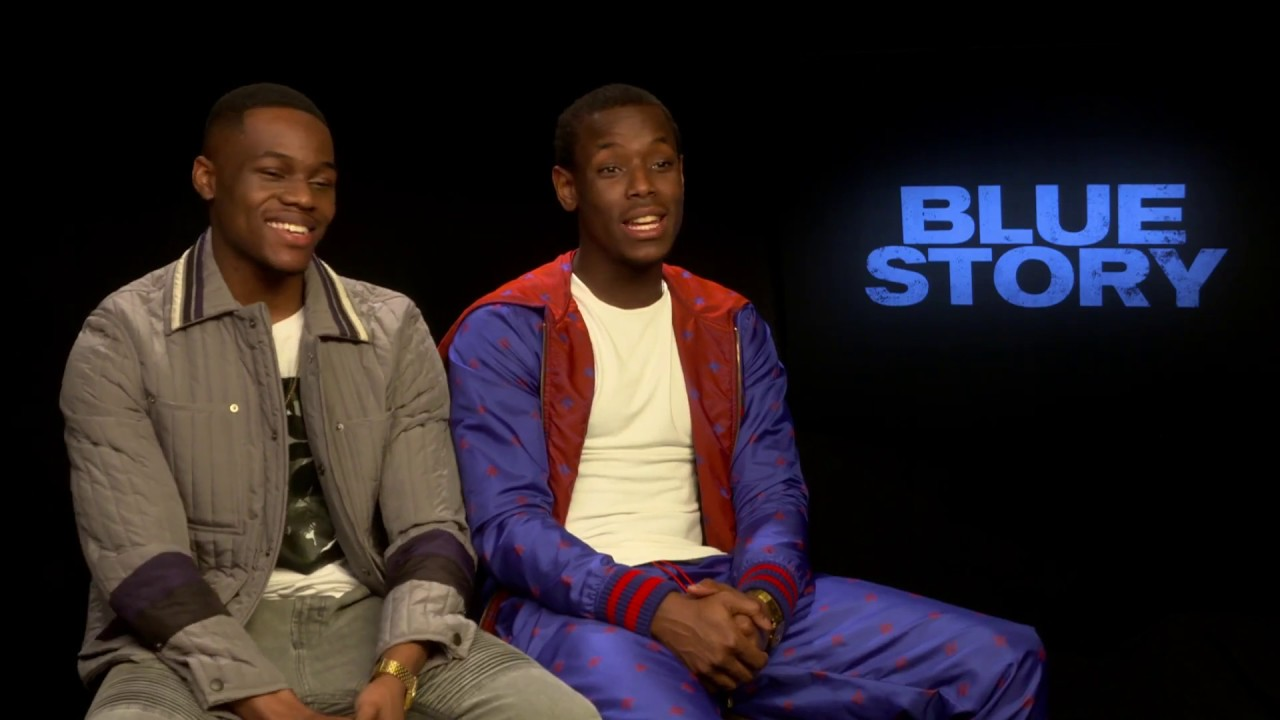 Blue Story | Micheal Ward And Stephen Odubola Talk 'Kidulthood' Comparisons & Characters | Interview
