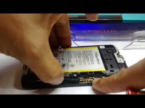 Cara Mudah Ganti Baterai BlackBerry Q5