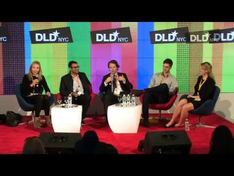 DLD NYC 14 - Cracking the Code of the Art Business (Cleveland, Genocchio, Vroom, Julka, de Pury)