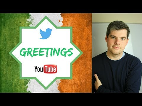 IRISH ENGLISH - Episode 1: Greetings