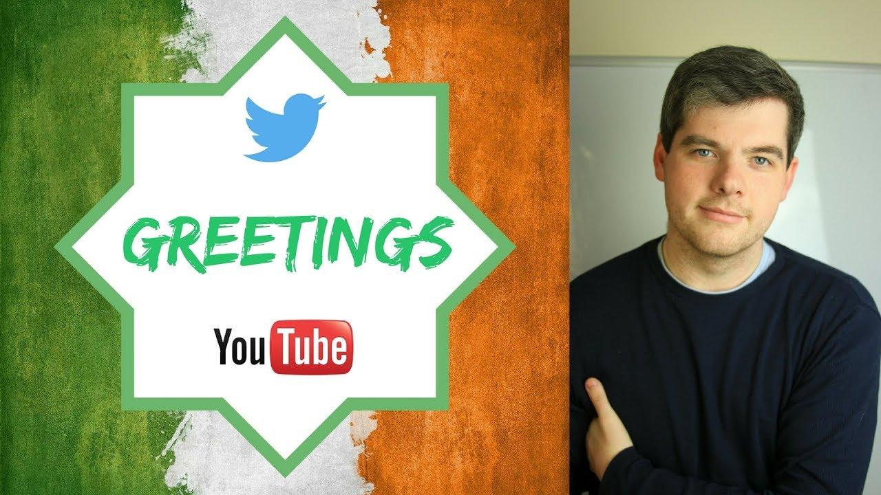 Irish English Episode 1 Greetings Youtube