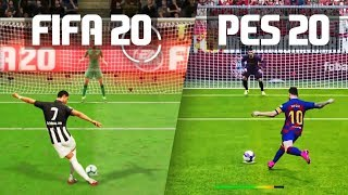 FIFA 20 vs PES 20: Penalty Kicks