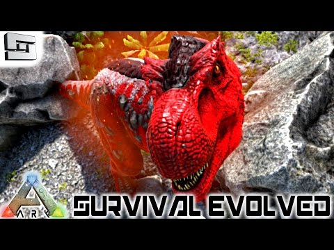 ARK: Survival Evolved - ALPHA TREX! E54 ( T-Rex / Gameplay )