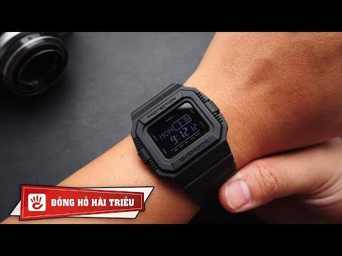 Khám Phá đồng Hồ G-Shock DW-D5500BB Giá 3 Triệu Kỷ Niệm 35 Năm Siêu đẹp