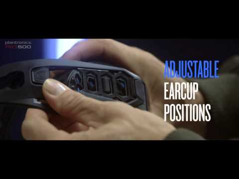 The world's first fully modular gaming headset Plantronics RIG 500