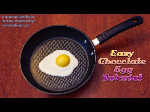 Easy Chocolate Eggs Tutorial