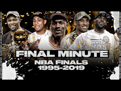 The Last Minute of the Last 25 NBA Finals (1995-2019)