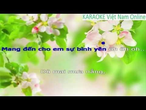 Làm vợ anh nhé KARAOKE    Nhạc trẻ KARAOKE hay nhất HD    Beat chuẩn