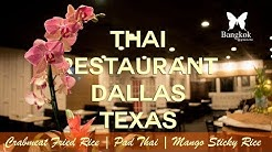 [Background] One of Thai Restaurant in Dallas, Texas