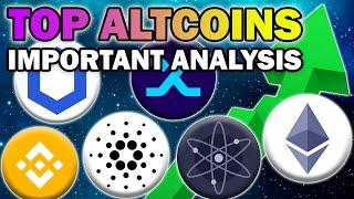 IMPORTANT Analysis On 10 TOP Altcoins to WATCH NOW (Altcoin Price Predictions 2021)