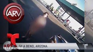 <b>Mujer desnuda</b> se roba una patrulla en Arizona | Al Rojo Vivo ...