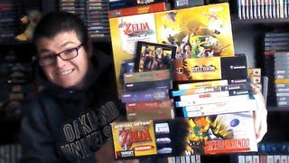 A Legendary Pick Ups Video (Zelda, SNES, Wii U, NES, Gameboy...)