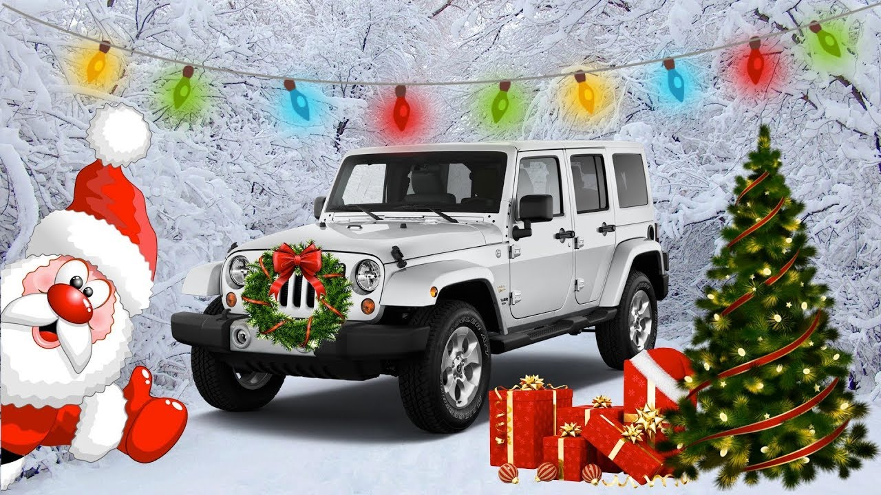 how to put christmas lights decorations in jeep wrangler christmas jeep - Jeep Christmas Decorations