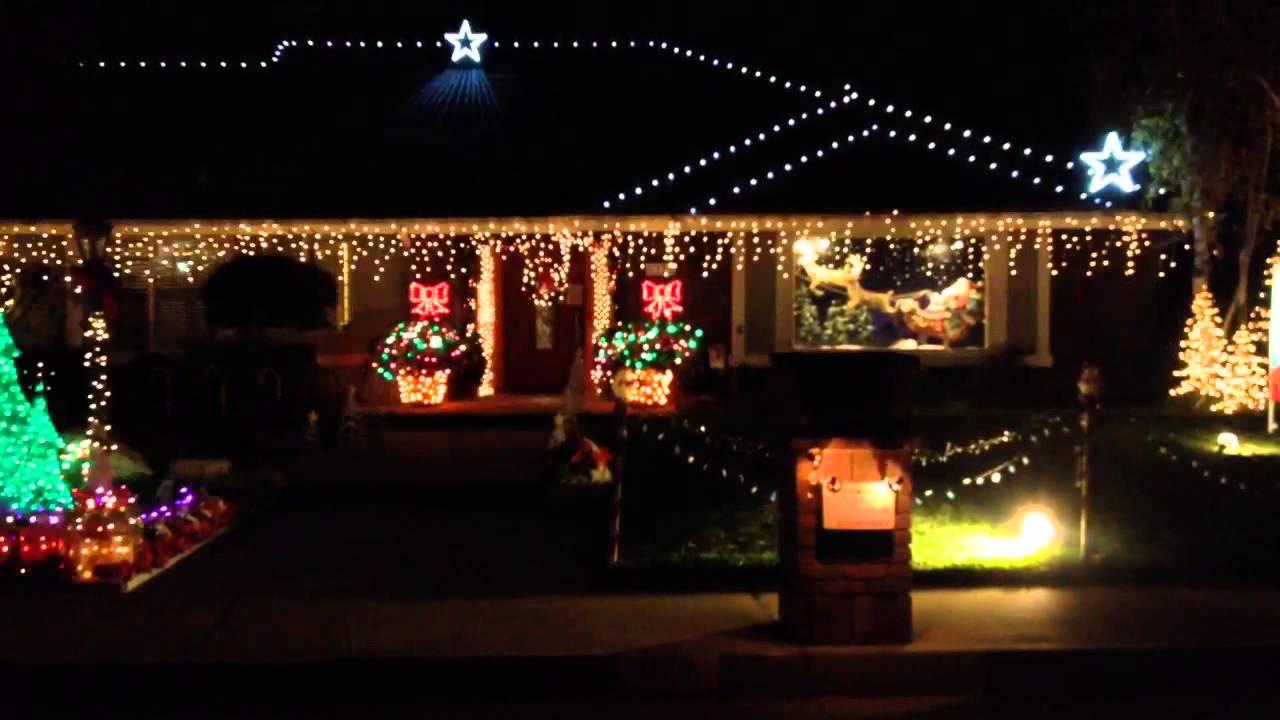 Glendora christmas lights 2017 for Christmas house music