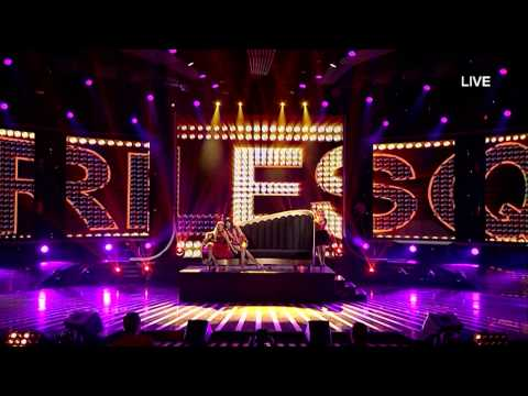 Alketa, Bleona & Miram Burlesque - X Factor Albania 4 (Netet LIVE)