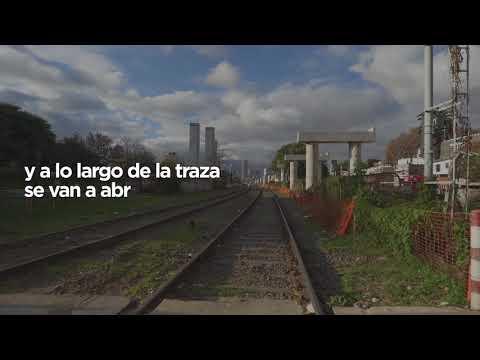 El Viaducto San Martín elimina 11 barreras y crea 9 cruces nuevos entre La Paternal y Palermo
