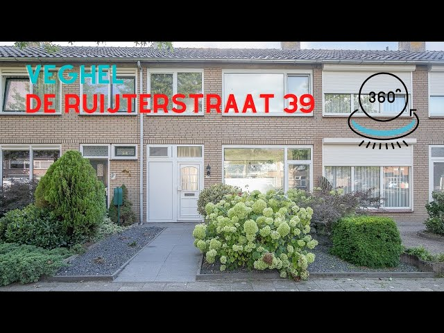 360 graden video Youtube - De Ruijterstraat 39, Veghel