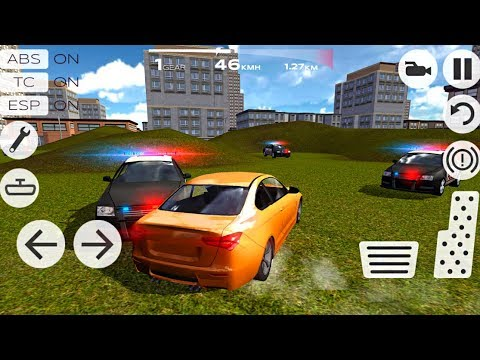 Extreme Car Driving Racing 3D - Police Chase and Escape - Android Gameplay FHD