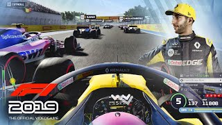 F1 2019 FRANCE GAMEPLAY - 4K