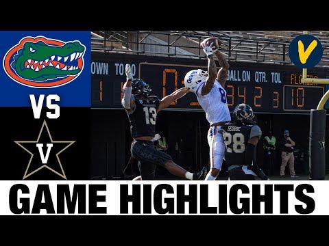 #6 Florida vs Vanderbilt Highlights | Week 12 2020 College Football Highlights
