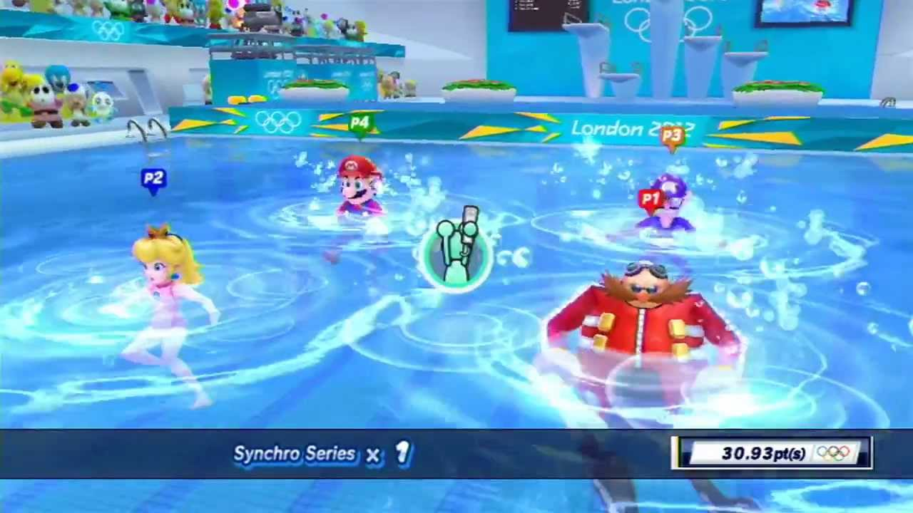 Mario and Sonic at the London 2012 Olympic Games: Part 4 ...
