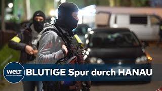 Die ersten schüsse fielen den ermittlern zufolge am mittwochabend gegen 22.00 uhr. heumarkt in der hanauer innenstadt blicken passanten später nach...