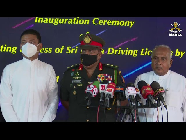 General Shavendra Silva ,CDS & Commander Of the Army Voicecut to Media @ AITSC Werahera-1 01.01.2021