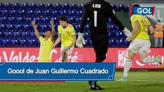 Gol de Juan Guillermo Cuadrado en Paraguay vs Colombia - Eliminatorias Sudamericanas