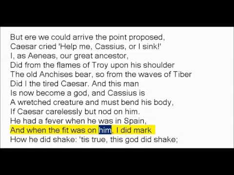 Julius Caesar by William Shakespeare (Book Reading, British English Female Voice)