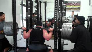 Former College Fullback - 46 YO Scott Emerson Parallel Box Squats 680lbs for 2!