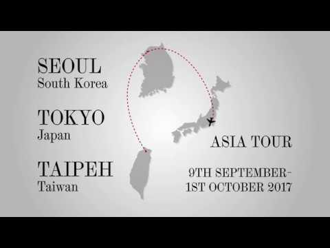 Tour of Asia 2017 - The video diary: Taipeh