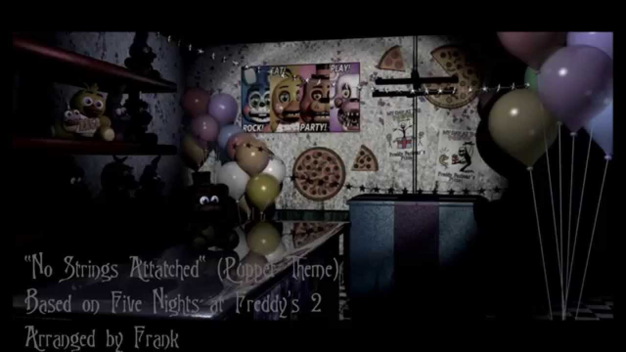 """Five Nights at Freddy's 2 - """"No Strings Attached"""" by FrankTheShyGuy"""