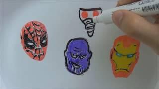 Reescribiendo AVENGERS INFINITY WAR Parodia | Dibujos de Los Vengadores | Dibujos que se Mueven IV