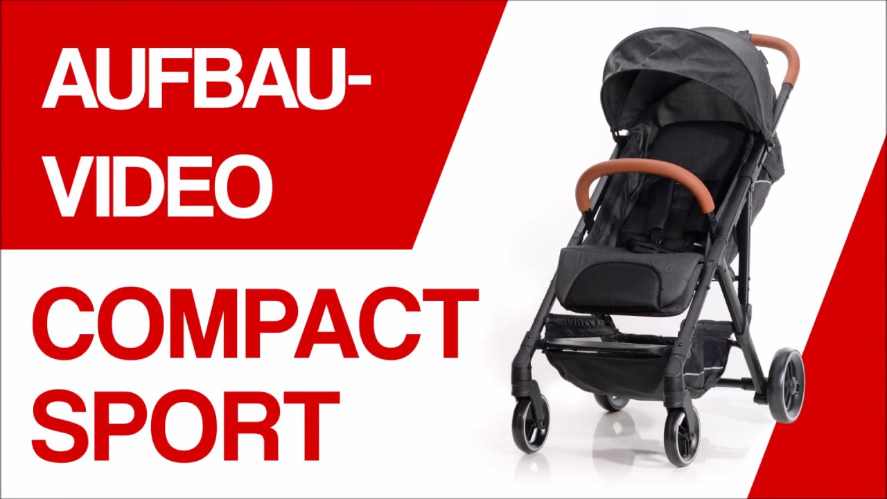 Knorr Baby Buggy Styler Test Aufbauvideo Baby Plus Buggy Compactsport