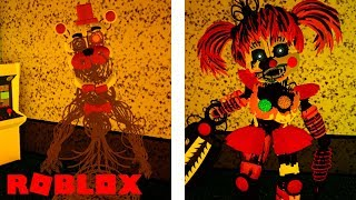 NEW MOLTEN FREDDY, SCRAP BABY, LEFTY ANIMATRONICS AND MORE in Roblox FNAF 6 Lefty's Pizzeria REMAKE