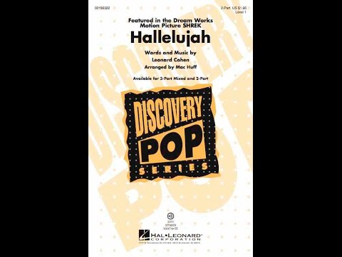 Hallelujah (2-Part) - Arranged by Mac Huff