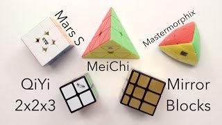Mars S, QiYi 2x2x3, MeiChi + More Unboxing! | thecubicle.us