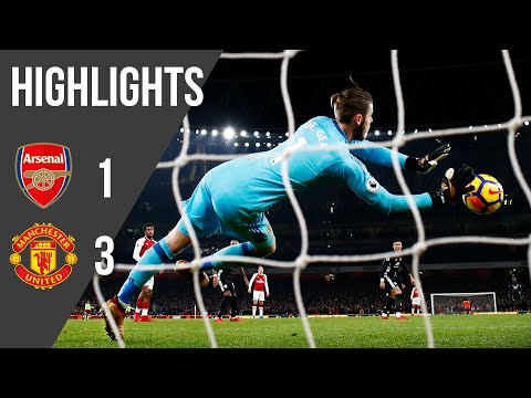 Arsenal 1-3 Manchester United | Premier League Highlights (17/18) | Manchester United