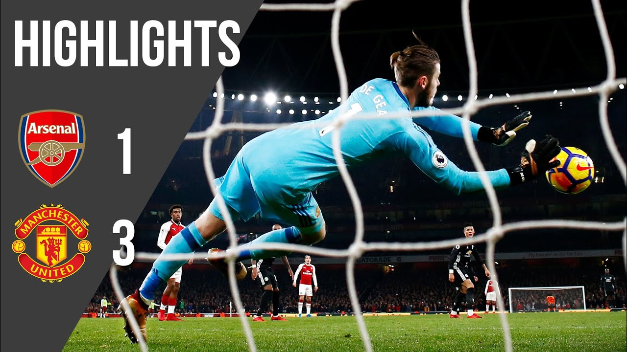 Download Arsenal 1-3 Manchester United | Premier League Highlights (17/18) | Manchester United