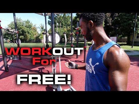 AARP FitLot Outdoor Fitness Park