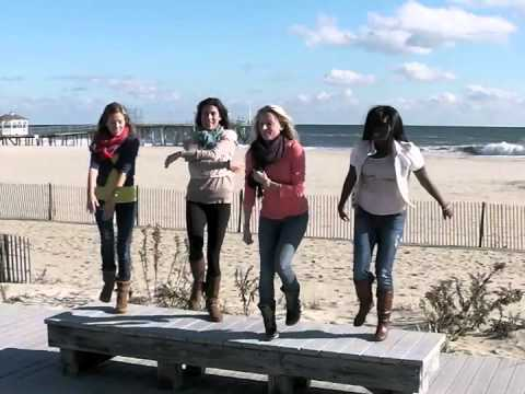 Kelly Clarkson, Stronger (What Doesn't Kill You) Flash Mob, Jersey Shore (Belmar)